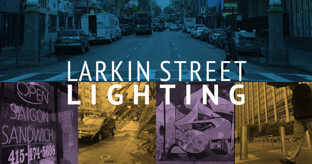 Larkin Street Lighting